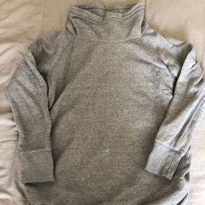 Isabel maternity cowl neck sweatshirt